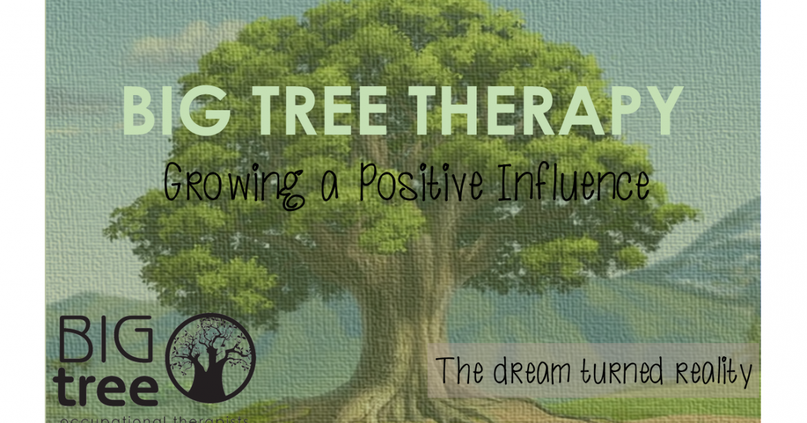 Big Tree Therapy, the dream, turned reality.